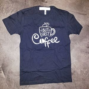 """""""But First Coffee"""" Graphic Tee"""